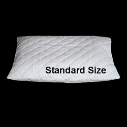 Quilted Zipper Pillow Protector