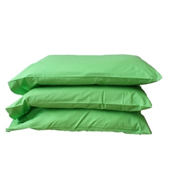 Bright Green Pillowcases (Six Pack)